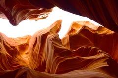 W Arizona szczelina jar fotografia royalty free