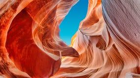 W Arizona szczelina jar obrazy stock