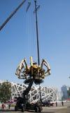 W Azja, Chiny, Pekin, Olimpijski park pająk Francuska machinalna parada Fotografia Stock