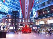 W Azja, Pekin, Chiny, Parkview zielony budynek Zdjęcie Stock