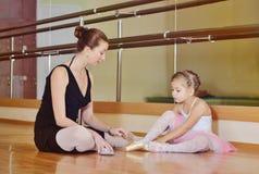 W baletniczej szkole obrazy stock