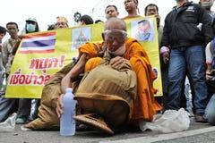 w Bangkok antyrządowy Wiec Obraz Royalty Free