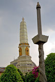 w Bangkok podeszczowym i kolor religii mozaice Obrazy Royalty Free