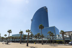 W Barcelona hotel Stock Fotografie
