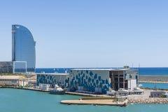 W Barcelona hotel Zdjęcie Stock