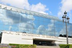W Barcelona kongresowy Pałac Obrazy Stock