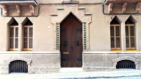 W Barcelona modernisty dom zdjęcia royalty free
