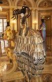 W baroku stylu teatrów kostiumy Obraz Stock