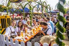 W beergarden Obraz Stock