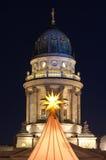 W Berlin Boże Narodzenie rynek, Niemcy Zdjęcia Stock