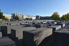 W Berlin holokausta pomnik Obrazy Royalty Free