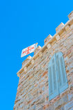 W Betlejem Grota dojny kościół, Palestyna Fotografia Stock