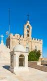 W Betlejem Grota dojny kościół, Palestyna Obraz Stock