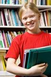 W bibliotece Zdjęcie Stock
