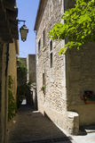 W Bonnieux mała ulica Fotografia Royalty Free