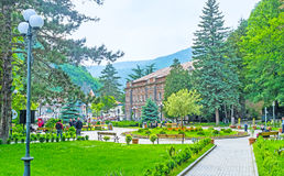 W Borjomi parku Obrazy Royalty Free