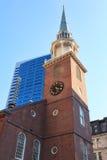 W Boston Spotkanie Stary Południowy Dom Fotografia Stock