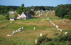 W Brittany megalityczny zabytek Zdjęcie Royalty Free