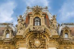 W Bucharest George muzeum Enescu, Rumunia zdjęcie royalty free