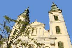 W Budapest Farny miasto Kościół fotografia royalty free