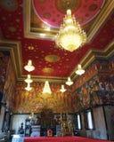 W Buddyjskim kościół zdjęcia royalty free
