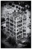 W budowie budynku widok od wieży eifla Lahore Obrazy Royalty Free