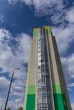 w budynku położenie Norway Oslo Blok mieszkalny nowożytny i elegancki żywy blok mieszkalny mieszkań nieruchomości domów prawdziwe Obrazy Stock