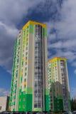 w budynku położenie Norway Oslo Blok mieszkalny nowożytny i elegancki żywy blok mieszkalny mieszkań nieruchomości domów prawdziwe Obraz Royalty Free