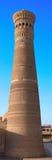 W Bukhara Kalyan minaret Obrazy Stock