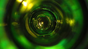 W butelce Zdjęcie Stock