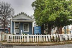 W C Handig Huismuseum in Memphis, Tennessee stock fotografie