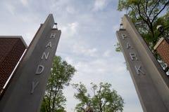 W. C. Handy Park In Memphis, TN Royalty Free Stock Photo