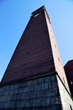 W castellanza stary abstrakcjonistyczny Italy ściana basztowy bel Obrazy Stock