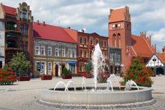 W centre Polska Obrazy Stock