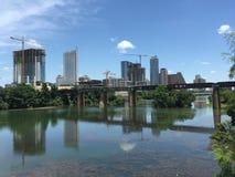 W centrum Austin - Ladybird jezioro Zdjęcia Royalty Free