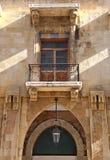 W centrum Bejrut Architektoniczny szczegół Zdjęcia Stock