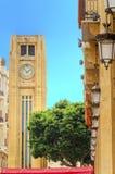 W centrum Bejrut, Liban Fotografia Royalty Free
