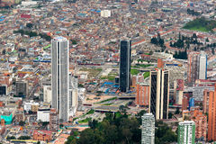 W centrum Bogota, Kolumbia fotografia royalty free