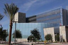 W centrum Chandler urzędu miasta budynek Fotografia Royalty Free