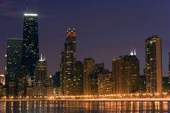 w centrum chicago obrazy royalty free