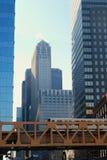 w centrum chicago Obraz Royalty Free