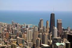 w centrum chicago zdjęcia royalty free
