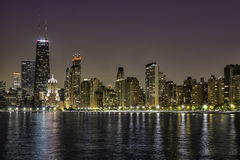 W centrum Chicagowska Wspaniała mila Zdjęcia Stock