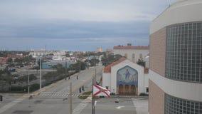 W centrum Daytona plaża Floryda fotografia stock