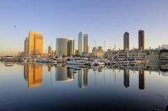 w centrum Diego linia horyzontu San zdjęcie stock