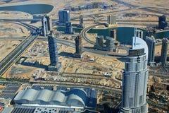 w centrum Dubai Obraz Stock