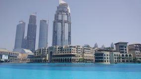 w centrum Dubai Zdjęcie Royalty Free