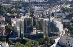 W centrum Dusseldorf, Niemcy Zdjęcia Stock