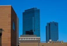 W centrum Fort Worth, Teksas obraz stock
