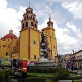 w centrum Guanajuato Obrazy Royalty Free